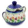 11 oz Stoneware Sugar Bowl - Polmedia Polish Pottery H6125K