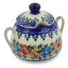 11 oz Stoneware Sugar Bowl - Polmedia Polish Pottery H6127K
