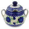 11 oz Stoneware Sugar Bowl - Polmedia Polish Pottery H6129K