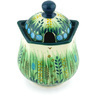 11 oz Stoneware Sugar Bowl - Polmedia Polish Pottery H6705G
