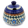 11 oz Stoneware Sugar Bowl - Polmedia Polish Pottery H7436K