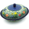 12-inch Stoneware Baker with Cover - Polmedia Polish Pottery H8634I