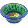 12-inch Stoneware Bowl with Rolled Lip - Polmedia Polish Pottery H6181G