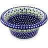 12-inch Stoneware Bowl with Rolled Lip - Polmedia Polish Pottery H6639G