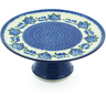 12-inch Stoneware Cake Stand - Polmedia Polish Pottery H3812A