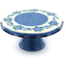 12-inch Stoneware Cake Stand - Polmedia Polish Pottery H7125A