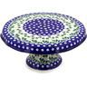 12-inch Stoneware Cake Stand - Polmedia Polish Pottery H8340D