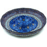 12-inch Stoneware Chip and Dip Platter - Polmedia Polish Pottery H1118H