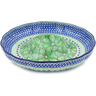 12-inch Stoneware Chip and Dip Platter - Polmedia Polish Pottery H4055I