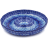 12-inch Stoneware Chip and Dip Platter - Polmedia Polish Pottery H4056I