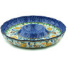 12-inch Stoneware Chip and Dip Platter - Polmedia Polish Pottery H4284H