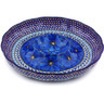 12-inch Stoneware Chip and Dip Platter - Polmedia Polish Pottery H4538G