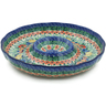 12-inch Stoneware Chip and Dip Platter - Polmedia Polish Pottery H7825I