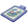 12-inch Stoneware Cutting Board - Polmedia Polish Pottery H3586I