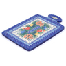 12-inch Stoneware Cutting Board - Polmedia Polish Pottery H3592I
