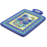 12-inch Stoneware Cutting Board - Polmedia Polish Pottery H3596I