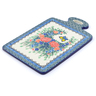 12-inch Stoneware Cutting Board - Polmedia Polish Pottery H3597I