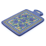 12-inch Stoneware Cutting Board - Polmedia Polish Pottery H7695I