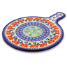 12-inch Stoneware Cutting Board - Polmedia Polish Pottery H9127I