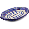 12-inch Stoneware Platter with Handles - Polmedia Polish Pottery H9007I