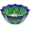12-inch Stoneware Scalloped Bowl - Polmedia Polish Pottery H4771G