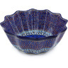 12-inch Stoneware Scalloped Bowl - Polmedia Polish Pottery H5753G