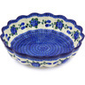 12-inch Stoneware Scalloped Bowl - Polmedia Polish Pottery H5767G