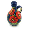 12 oz Stoneware Bottle - Polmedia Polish Pottery H6099I
