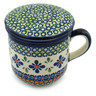12 oz Stoneware Brewing Mug - Polmedia Polish Pottery H0648I