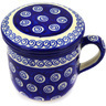 12 oz Stoneware Brewing Mug - Polmedia Polish Pottery H3730D