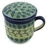 12 oz Stoneware Brewing Mug - Polmedia Polish Pottery H4186I
