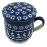 12 oz Stoneware Brewing Mug - Polmedia Polish Pottery H4673I