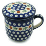 12 oz Stoneware Brewing Mug - Polmedia Polish Pottery H4674I