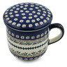 12 oz Stoneware Brewing Mug - Polmedia Polish Pottery H4874I