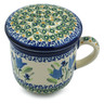 12 oz Stoneware Brewing Mug - Polmedia Polish Pottery H4965I