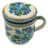 12 oz Stoneware Brewing Mug - Polmedia Polish Pottery H4966I