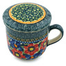 12 oz Stoneware Brewing Mug - Polmedia Polish Pottery H4975I