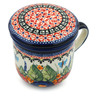 12 oz Stoneware Brewing Mug - Polmedia Polish Pottery H9164B