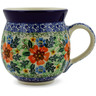 12 oz Stoneware Bubble Mug - Polmedia Polish Pottery H0000B