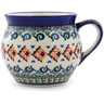 12 oz Stoneware Bubble Mug - Polmedia Polish Pottery H0907A