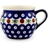 12 oz Stoneware Bubble Mug - Polmedia Polish Pottery H0915A
