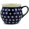 12 oz Stoneware Bubble Mug - Polmedia Polish Pottery H0916A