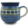 12 oz Stoneware Bubble Mug - Polmedia Polish Pottery H1132B