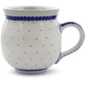 12 oz Stoneware Bubble Mug - Polmedia Polish Pottery H1160B