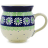 12 oz Stoneware Bubble Mug - Polmedia Polish Pottery H1245B