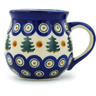 12 oz Stoneware Bubble Mug - Polmedia Polish Pottery H1300H