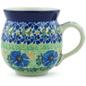 12 oz Stoneware Bubble Mug - Polmedia Polish Pottery H1349B