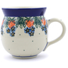 12 oz Stoneware Bubble Mug - Polmedia Polish Pottery H1359B
