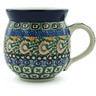12 oz Stoneware Bubble Mug - Polmedia Polish Pottery H1447B