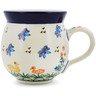 12 oz Stoneware Bubble Mug - Polmedia Polish Pottery H1515D
